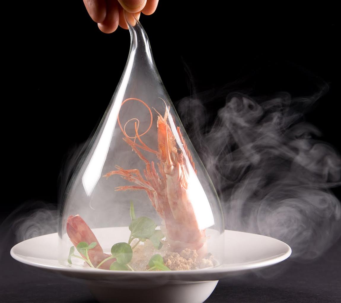 использование сухого льда в молекулярной кухне