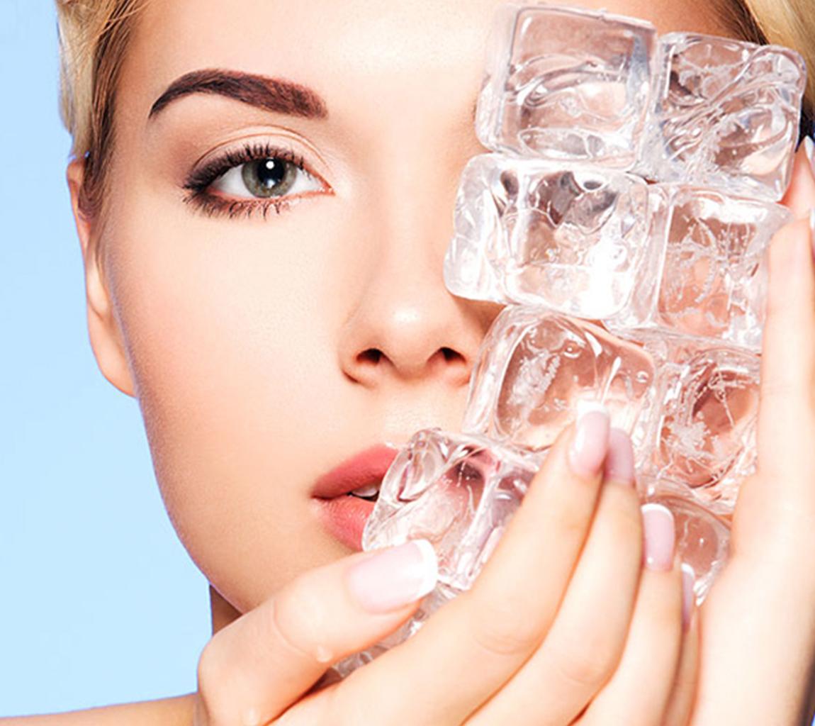 Применение сухого льда в косметологии
